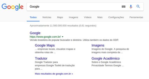 O que são os Sitelinks do Google e qual sua importância?