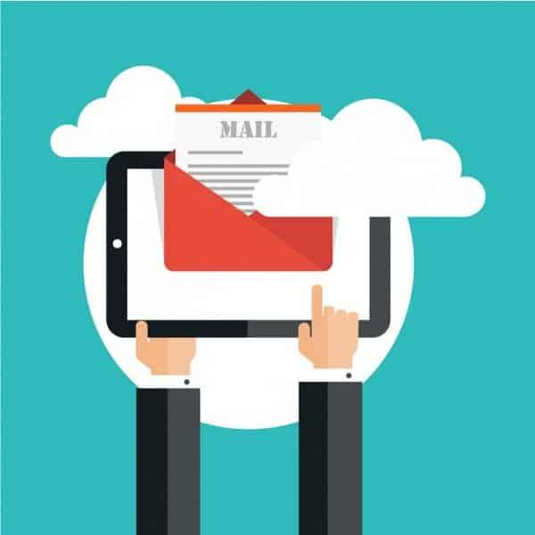 E-mail para gerar leads