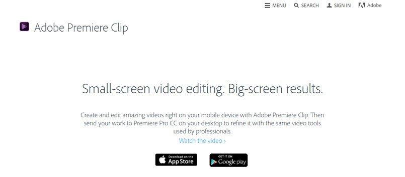 Plataformas de edição de vídeo