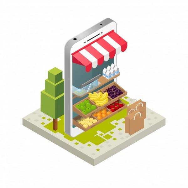 Procure criar um perfil ou uma página para a sua loja em diferentes plataformas