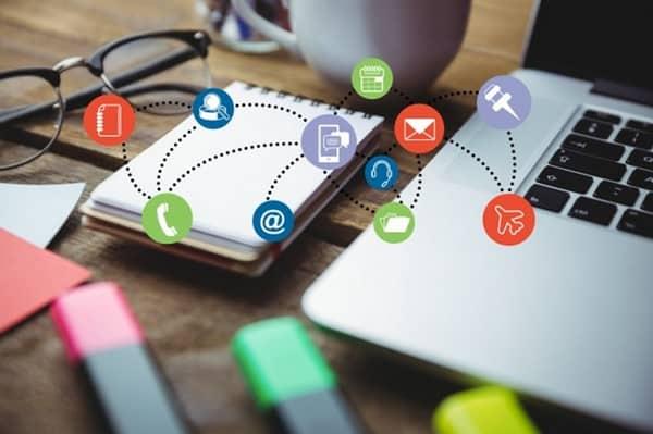 Posts nas redes sociais