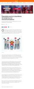 Agência IMMA marketing com microinfluentiadores