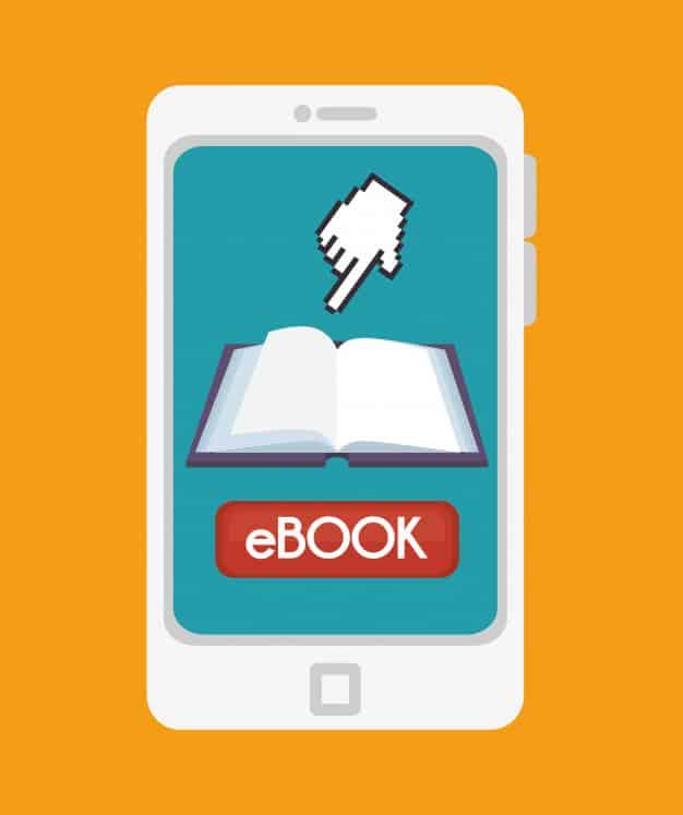 o ebook deve ser usado em conjunto com uma estratégia de marketing maior.