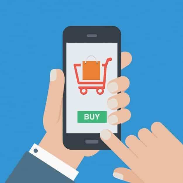 Hoje em dia, há muitos veículos que o cliente pode usar para comprar alguma coisa online