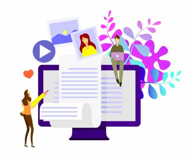 Faça marketing de conteúdo