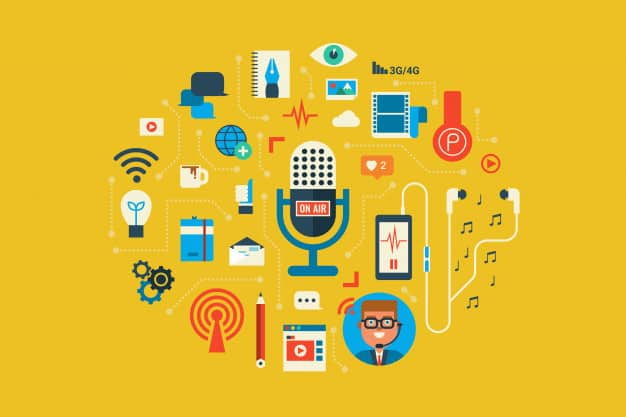 Qual é a relação entreo podcast e o marketing de conteúdo?