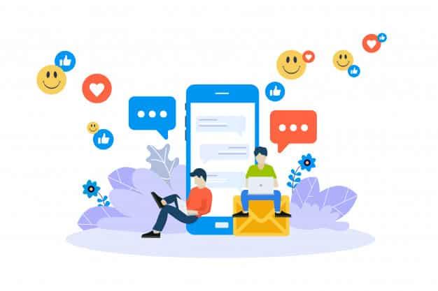 Use um blog e as redes sociais em conjunto