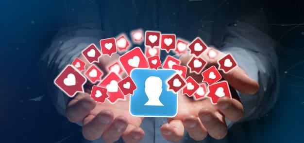 Esteja presente nas mídias sociais