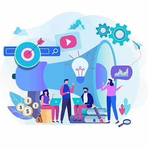 Uso das redes no marketing digital